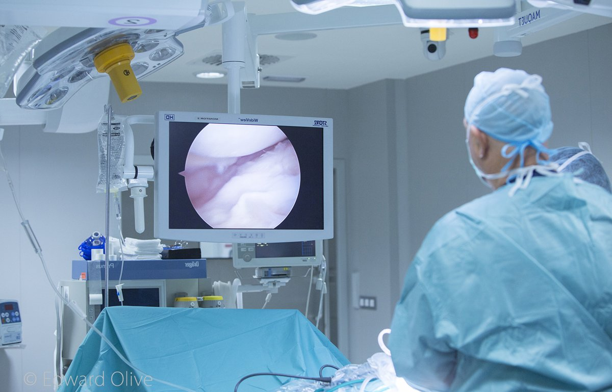 artroscopia con el Dr. Galindo