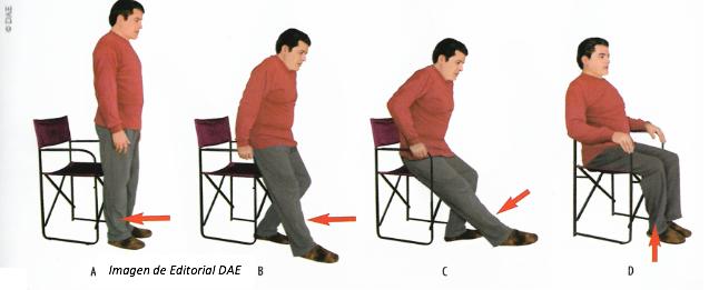 Recomendaciones para sentarse. Guía práctica para pacientes con Prótesis Total de Cadera IMTRA